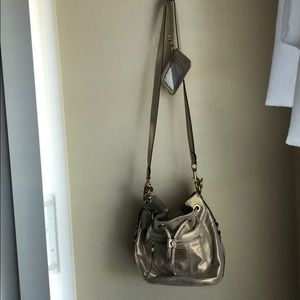Coach poppy bucket bag with matching mini wallet